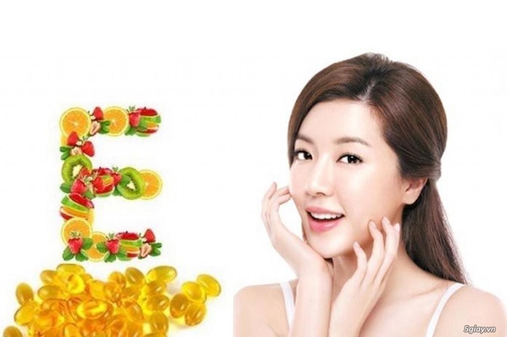 Tác dụng của vitamin E và các cách sử dụng Vitamin E đơn giản tại nhà