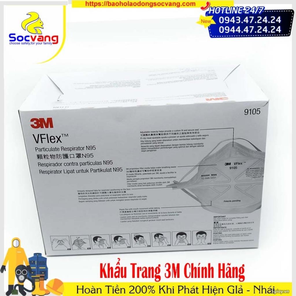 KHẨU TRANG 3M VFLEX 9105 N95 CHỐNG BỤI VÀ VIRUS - 1