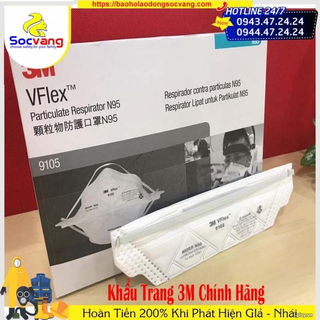 KHẨU TRANG 3M VFLEX 9105 N95 CHỐNG BỤI VÀ VIRUS - 2