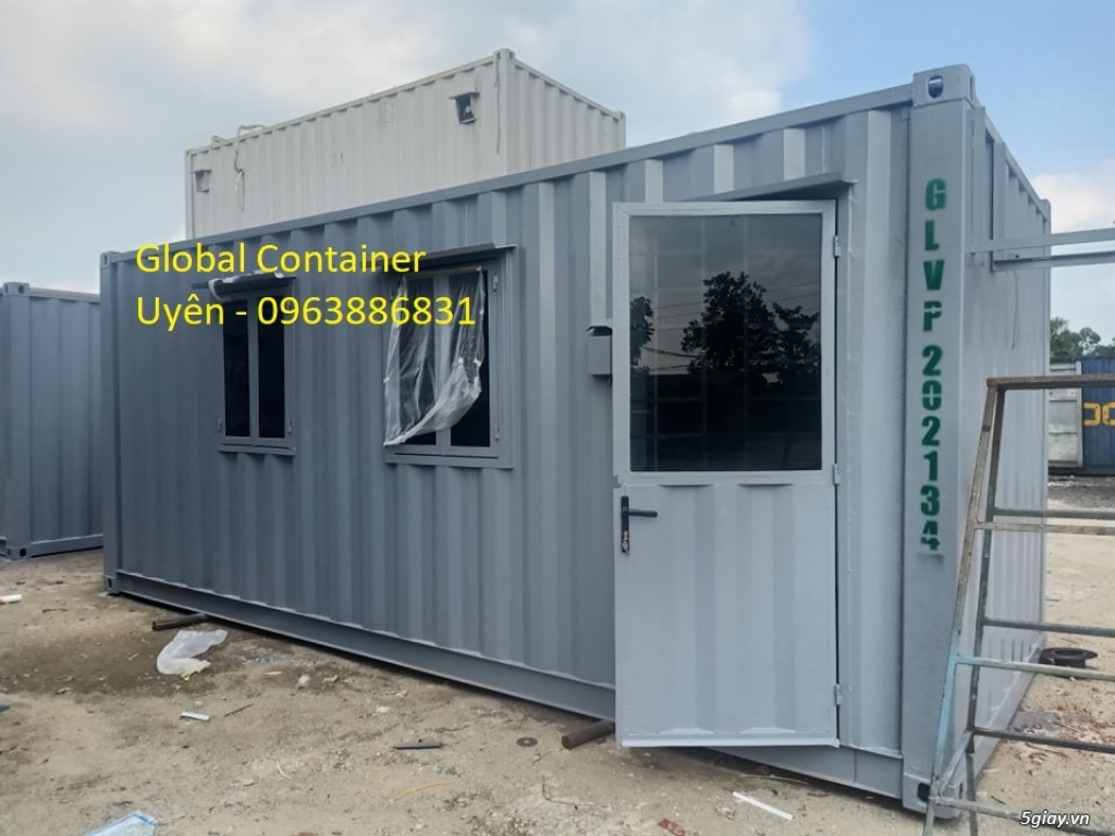 cho thuê container văn phòng rẻ đẹp tiện lợi