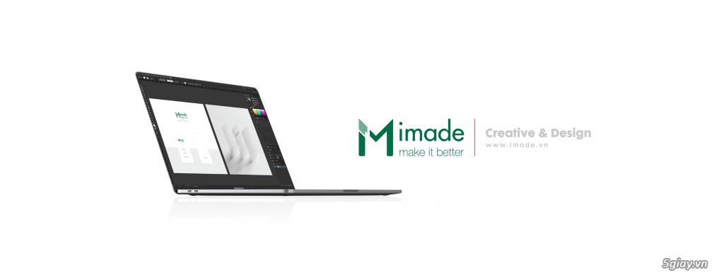 Dịch vụ thiết kế đồ hoạ uy tín chuyên nghiệp - IMADE.VN