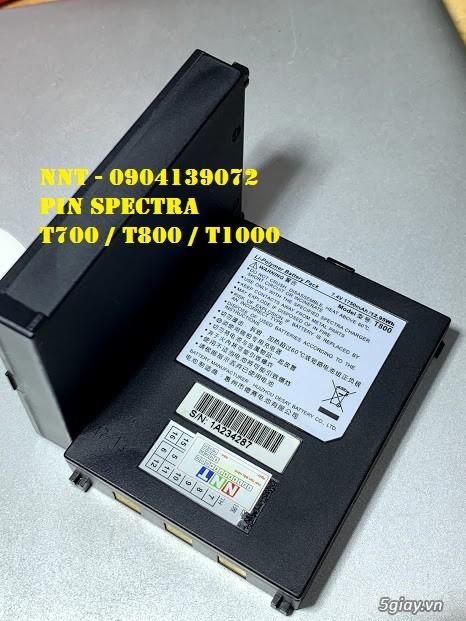Pin máy cà thẻ T700, Pin máy cà thẻ T800, Pin máy cà thẻ T100 - 5