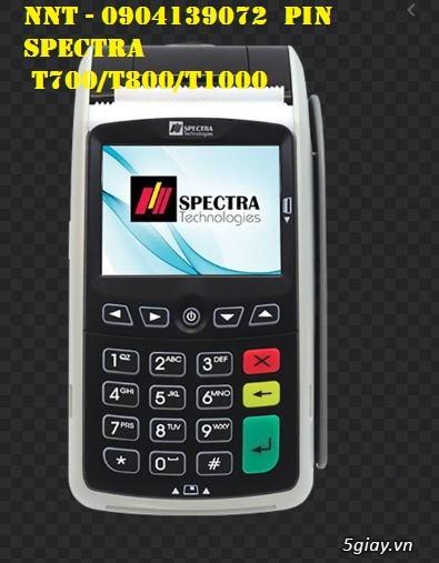 Pin máy cà thẻ T700, Pin máy cà thẻ T800, Pin máy cà thẻ T100 - 2