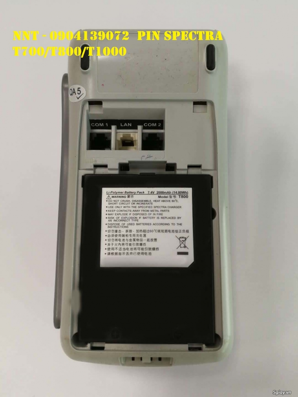 Pin máy cà thẻ T700, Pin máy cà thẻ T800, Pin máy cà thẻ T100 - 4