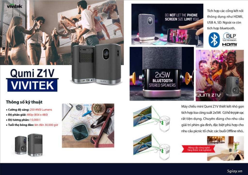 Máy chiếu mini cầm tay VIVITEK QUMI Z1V - 15