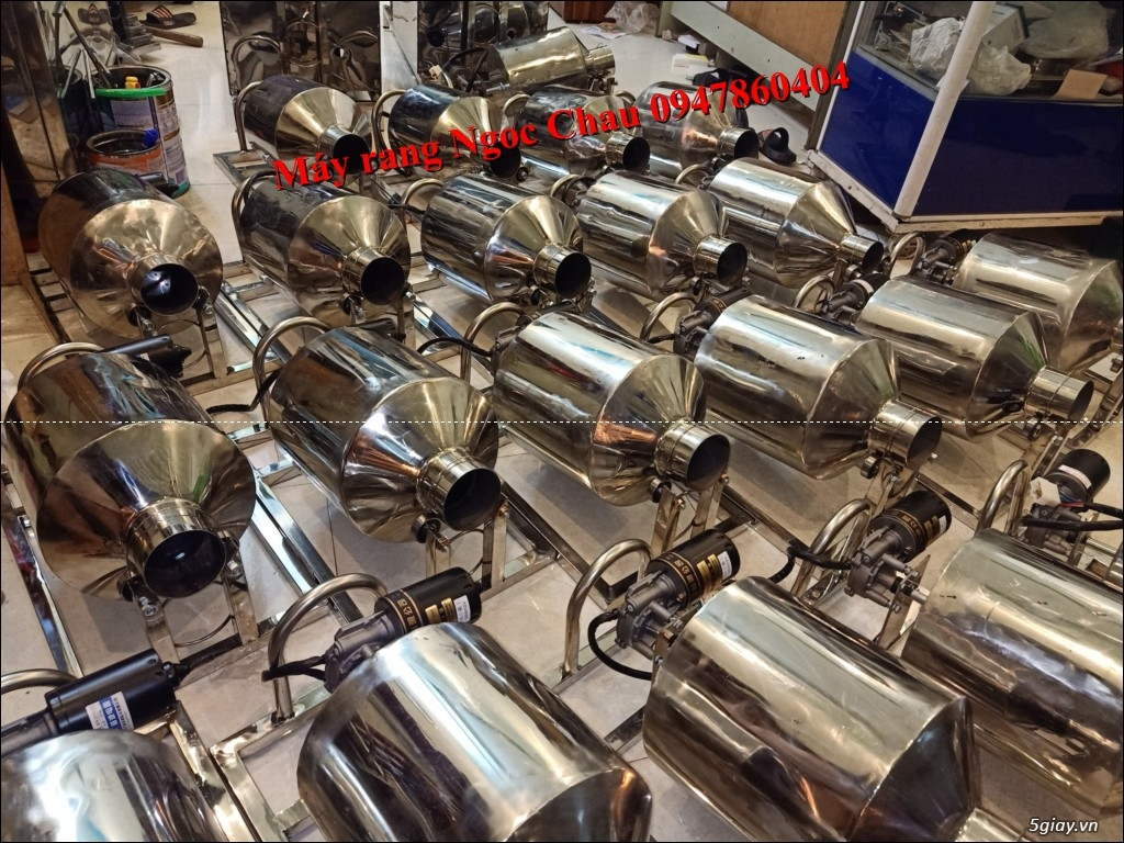 Máy rang ngũ cốc Ngọc Châu mini giá rẻ - 1