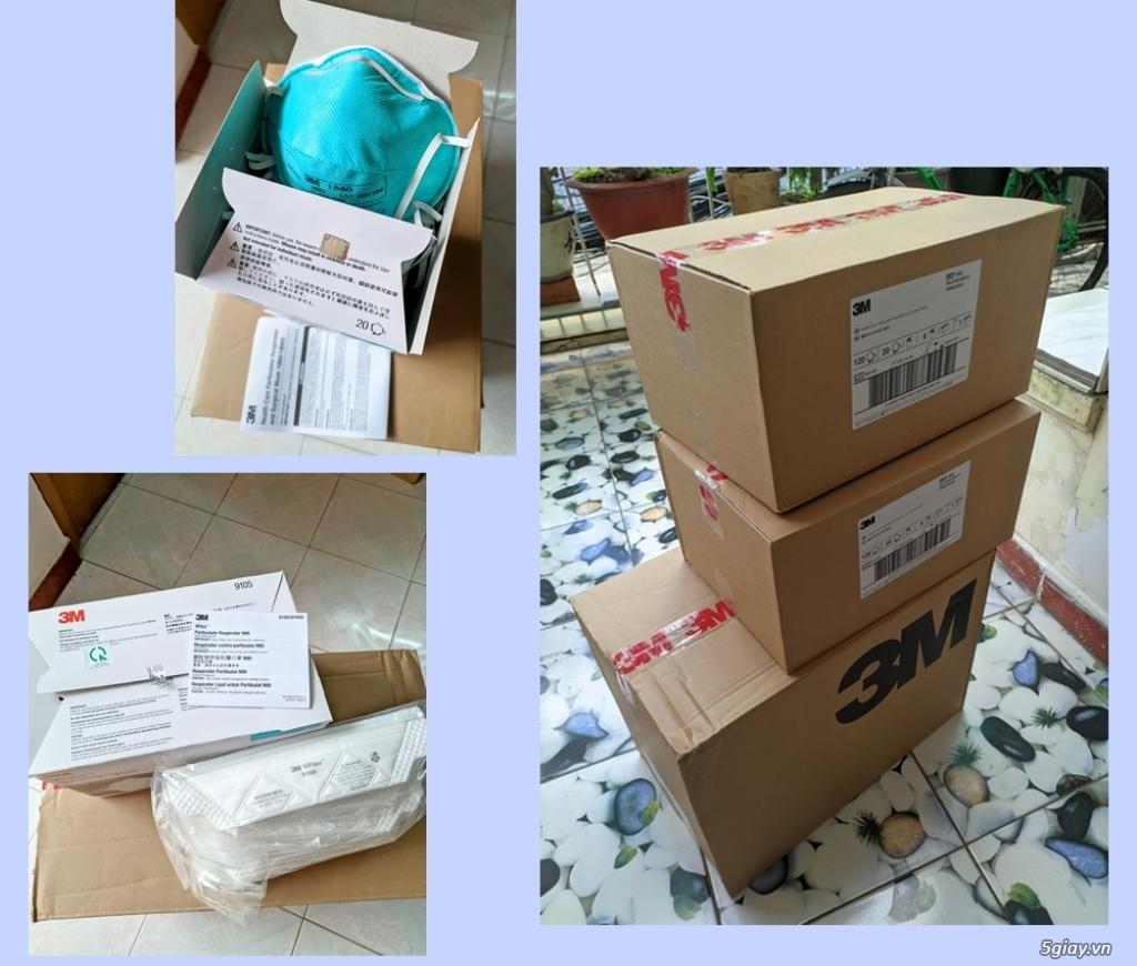 Cần bán: Khẩu trang 3M N95 chính hãng 1860 và 9105 VFlex (Singapore) - 5