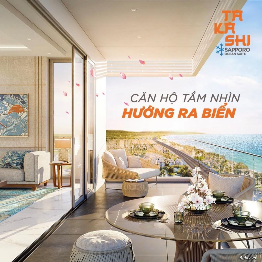 Dự án Takashi - Quy Nhơn - Căn hộ mặt tiền biển giá chỉ từ 35tr/m2