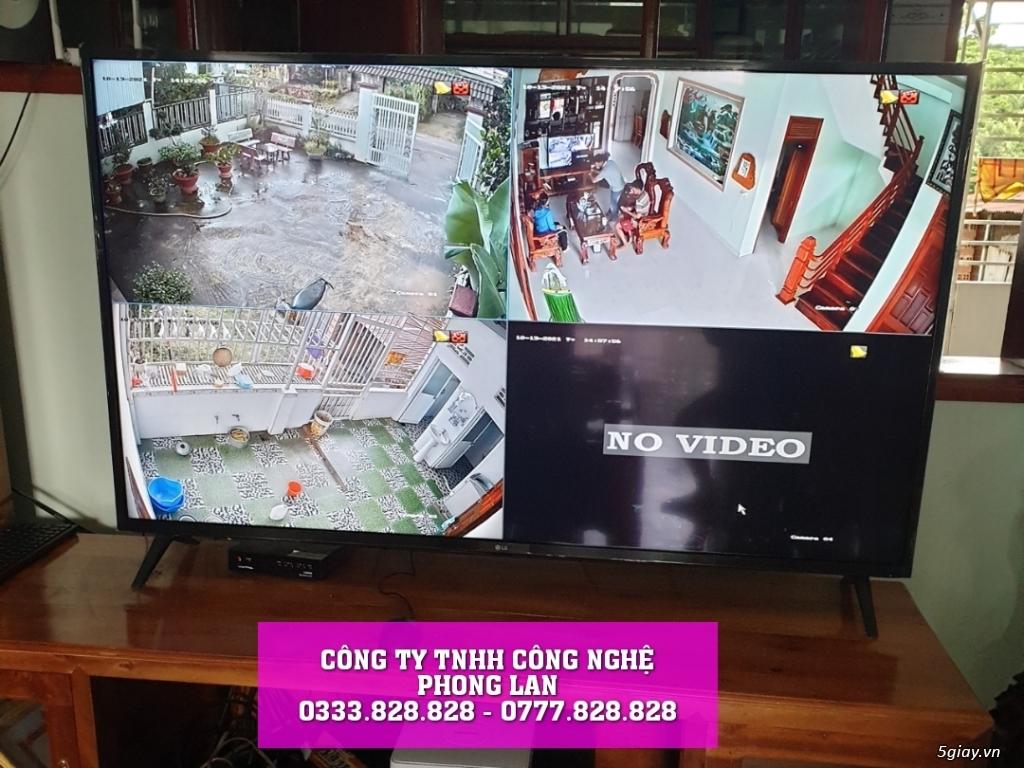 lắp đặt camera nhà anh khách hàng ở Thôn 9 Lộc Nam Bảo Lâm