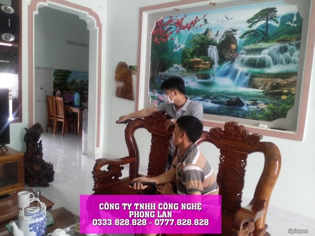 lắp đặt camera nhà anh khách hàng ở Thôn 9 Lộc Nam Bảo Lâm - 3